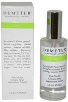 Demeter Lime for Unisex-4-Ounce Cologne Spray