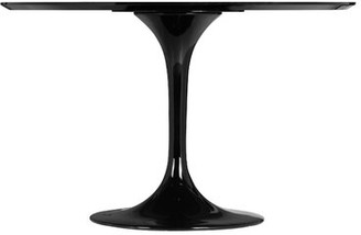 Ivy Bronx Dining Table Color: Black
