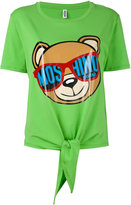 Moschino bear print T-shirt - women - Cotton/Spandex/Elastane - L