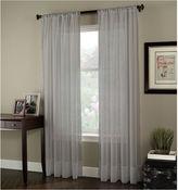 Asstd National Brand Rod-Pocket Sheer Curtain Panel