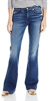 7 For All Mankind Women's Petite Tailor Less Dojo Trouser Jean