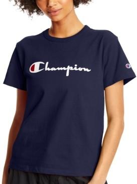 Champion Women's Heritage Cotton T-Shirt