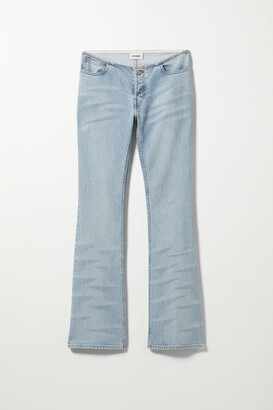 Weekday Paris Jeans Lazer Blue - Blue
