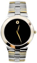Movado Museum 81 G2 1899 Stainless Steel / Gold Plated 35mm Mens Watch