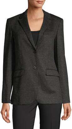Theory Classic Button-Front Blazer