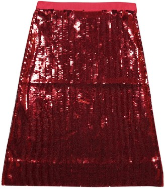 Jonathan Saunders Red Viscose Skirts