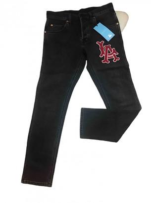 Gucci Black Denim - Jeans Jeans