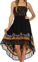 Sakkas 103141 Adara Batik Hi Lo Dress
