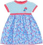 Jo-Jo JoJo Maman Bebe Ele Print T Shirt Dress (Toddler) - Blue-2-3