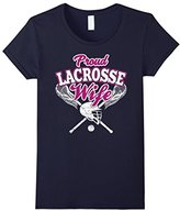 LaCrosse Women's Wife Shirt: Proud Wife Of Player T-Shirt--