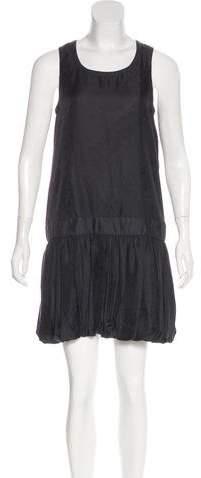 Givenchy Silk-Blend Mini Dress