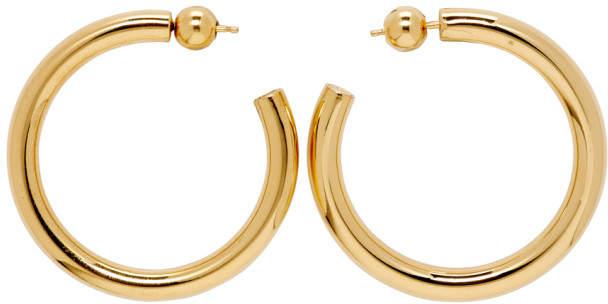 4150ac08a20cc Sophie Buhai Gold Medium Everyday Hoop Earrings