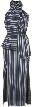 Altuzarra Riverhead striped panel dress