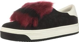 Marc Jacobs Women's Empire Color Sole Sneaker with Faux Fur
