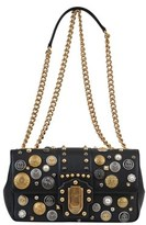 Dolce & Gabbana Dolce E Gabbana Women's Black Leather Shoulder Bag.