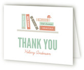 Minted Book It Baby Shower Thank You Cards