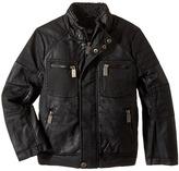 Urban Republic Kids - Sherpa Lined Moto Jacket Boy's Coat
