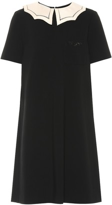 Gucci Embellished jersey dress