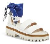 Sjyp Women's Scarf Strap Sandal
