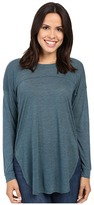 Splendid Heathered Drop Shoulder Long-Sleeve Tee