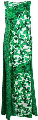 Iceberg floral sleeveless maxi dress