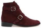 Emma.Go Emma Go Mercury Boucle Leather Flat Ankle Boots