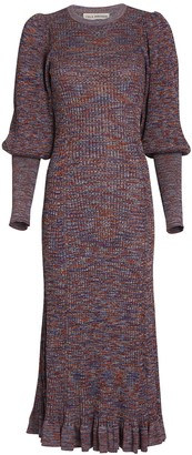 Ulla Johnson Quinn Puff Sleeve Sweater Dress