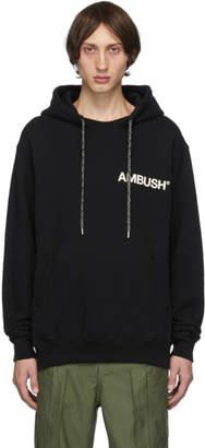 Ambush SSENSE Exclusive Black Logo Hoodie