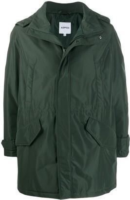 Aspesi Flap Pocket Parka Coat