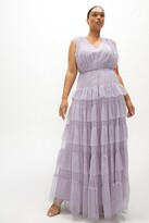 Thumbnail for your product : Coast Curve Tulle Tiered Maxi Dress
