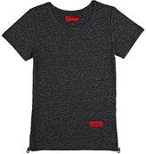 Haus of JR Cotton-Blend Side-Zip T-Shirt