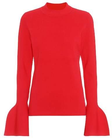 Diane von Furstenberg Flutter Sleeve sweater