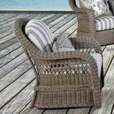Ophelia Britt Deep Seating Chair with Cushion & Co. Color: Sand
