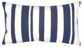Liora Manné Harbour Blue Marina Stripe Throw Indoor/Outdoor Pillow Marine