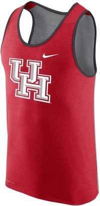 Nike Men's Red Houston Cougars Summer Performance Tank Top