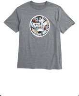 Vans Boy's Dual Palm Logo Graphic T-Shirt