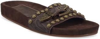 Dingo Take It Easy Women's Leather Slide Sandals