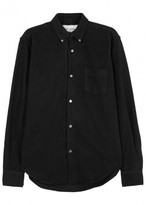 Our Legacy 1950s Black Flannel Shirt