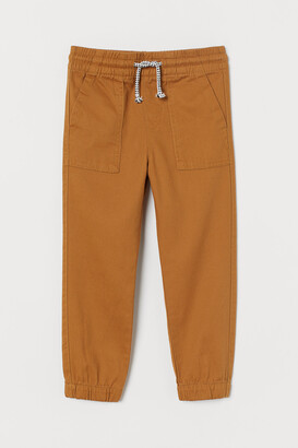 H&M Cotton Twill Joggers