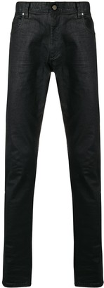 Roberto Cavalli faded slim trousers