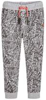 3 Pommes Abstract Printed Joggers