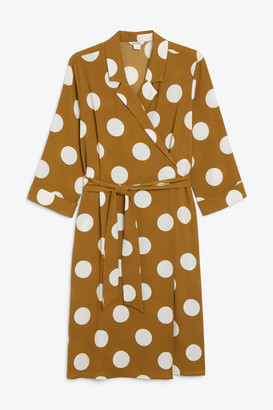 Monki Dressy wrap dress