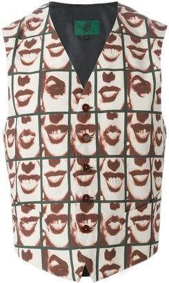 Jean Paul Gaultier Pre Owned 'Les Fous de la Photographie' waistcoat