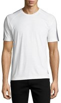 Zegna Sport Techmerino Jersey Short-Sleeve T-Shirt, White