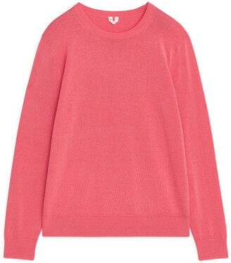 Arket Cotton Crew-Neck Jumper