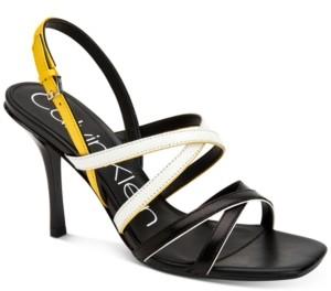 Calvin Klein Women's Miu Strappy Dress Sandals Women's Shoes