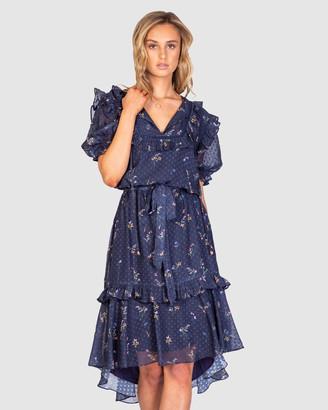 Three of Something Summertime Blues Dress