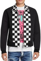 DSQUARED2 Checkerboard Zip-Front Jacket