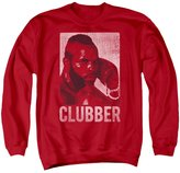 Rocky III Boxing Action Drama Movie Clubber Lang Headshot Adult Crew Sweatshirt