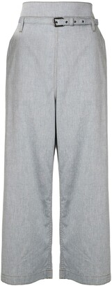 Marni Flared High-Waisted Jeans